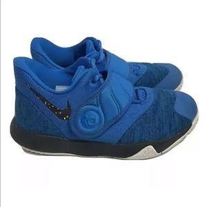 NIKE Kd Trey 5 VI Basketball Shoes Blue Boys 1.5